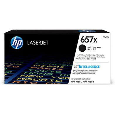 HP CF470X 657X Black High Yield Toner Cartridge (28,000 Pages)