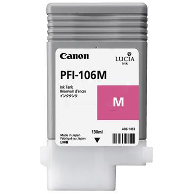 Canon 6623B001AA PFI-106M Magenta Ink Cartridge (130ml)