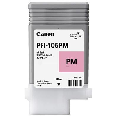 Canon 6626B001AA PFI-106PC Photo Magenta Ink Cartridge (130ml)