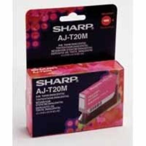 Sharp AJ-T20M Magenta Ink Cartridge (350 Pages)