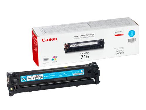716 Cyan Toner Cartridge (1,500 Pages)