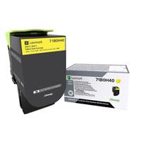 Lexmark 71B0H40 Yellow Toner Cartridge (3,500 pages)