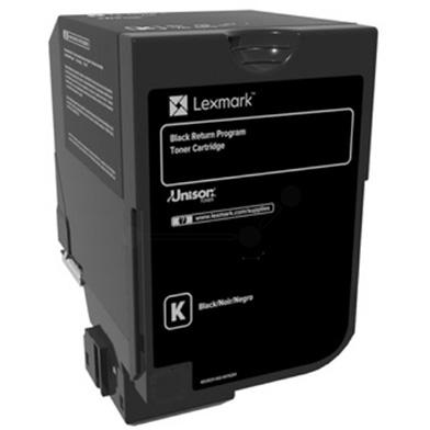 Lexmark 84C2HK0 High Yield Return Programme Black Toner (25,000 Pages)