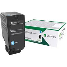 Lexmark 75B20C0 Cyan Return Programme Toner Cartridge (10,000 pages)