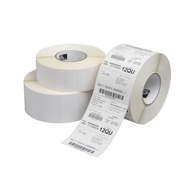 Zebra Z-Select 2000D White (57 x 32mm) DT Paper Label, Perm Adhesive, 25mm Core