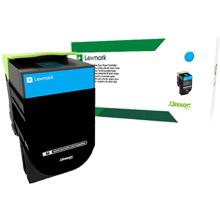 Lexmark 80C2SC0 802SC Cyan Standard RP Toner Cartridge (2,000 pages)