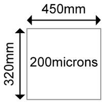OKI 09450483 Matt Polyester SRA3 125 microns (100 Shts)