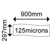 OKI 09451147 Matt Polyester A3 900mm Banner 125 microns (25 Shts)