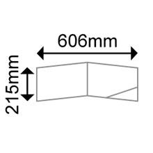OKI 09451294 Landscape folder with Self-Adhesive corner pocket 200gsm (50 Shts)
