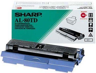 Sharp AL80TD Black Toner Cartridge (3,000 Pages)
