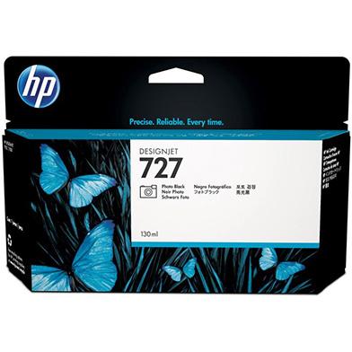 HP B3P23A 727 Photo Black DesignJet Ink Cartridge (130ml)
