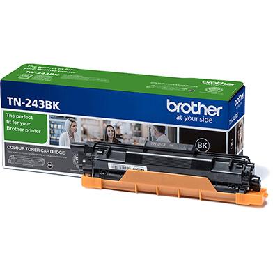 Brother TN243BK TN-243BK Black Toner Cartridge (1,000 Pages)