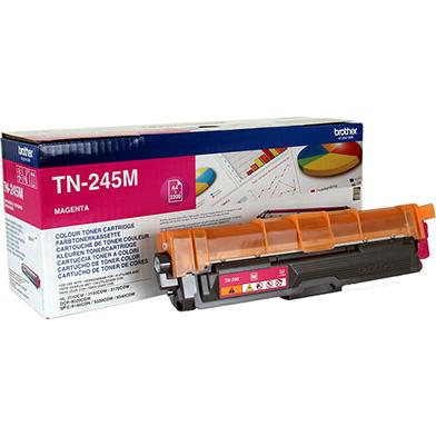Brother TN-245 Hi-Cap Magenta Toner Cartridge (2,200 Pages)