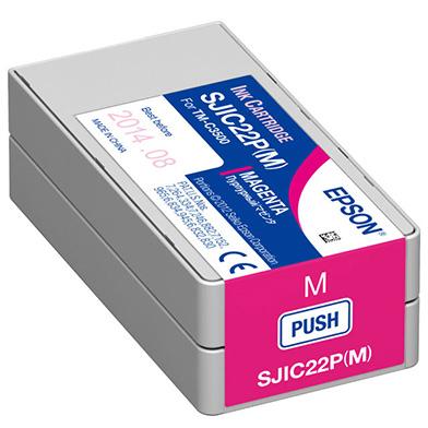 Epson C13S020565 GP-C831 Magenta Ink Cartridge (33ml)