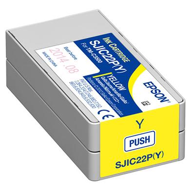Epson C13S020566 GP-C831 Yellow Ink Cartridge (33ml)