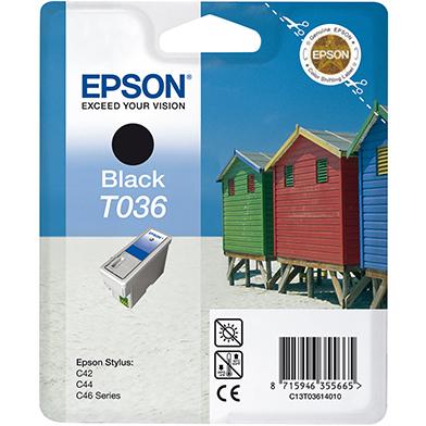 Epson C13T03614010 T036 Black Ink Cartridge (220 Pages)