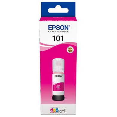 Epson C13T03V34A EcoTank 101 Magenta Ink Bottle (6,000 Pages)