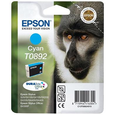 Epson C13T08924010 Cyan T0892 Ink Cartridge (3.5ml)