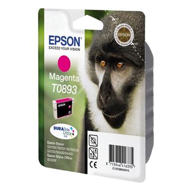 Epson C13T08934010 Magenta T0893 Ink Cartridge (3.5ml)