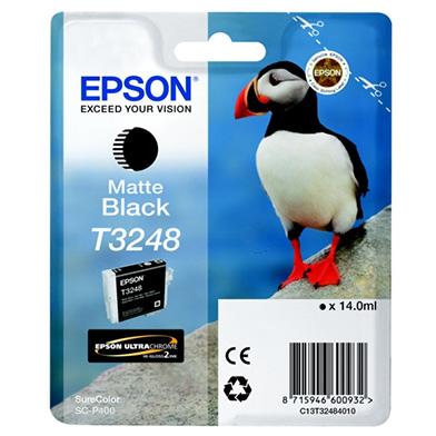 Epson C13T32484010 Matte Black Ink Cartridge (650 Pages)