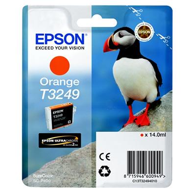 Epson C13T32494010 Orange Ink Cartridge (980 Pages)