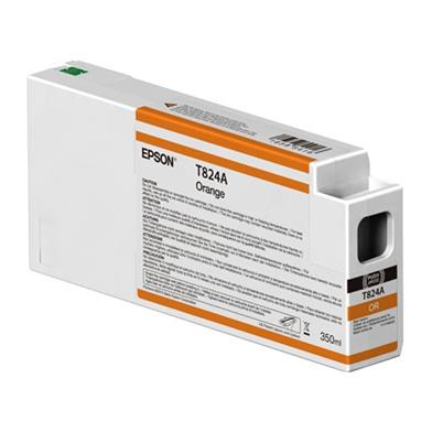 Epson C13T824A00 Orange Ink Cartridge (350ml)