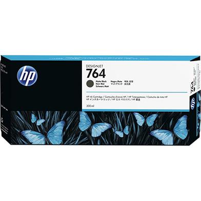 HP C1Q16A 764 Matte Black DesignJet Ink Cartridge (300ml)
