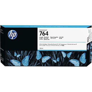 HP C1Q17A 764 Photo Black DesignJet Ink Cartridge (300ml)