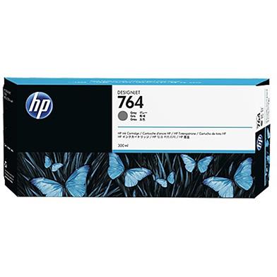 HP C1Q18A 764 Gray DesignJet Ink Cartridge (300ml)