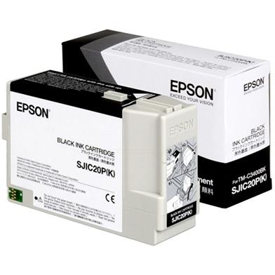 Epson C33S020490 TM-C3400BK Black Ink Cartridge
