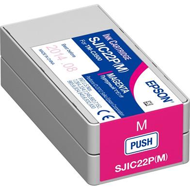 Epson C33S020603 TM-C3500 Magenta Ink Cartridge (33ml)