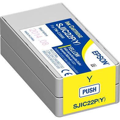 Epson C33S020604 TM-C3500 Yellow Ink Cartridge (33ml)