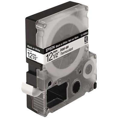 Epson C53S625419 Black/White 12mm (5m) Tape
