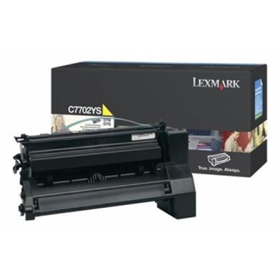 Lexmark C7702YS Yellow Toner Cartridge (6,000 Pages)