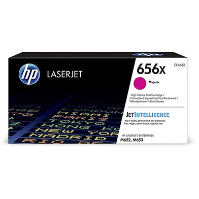HP CF463X 656X Magenta High Yield Toner Cartridge (22,000 Pages)