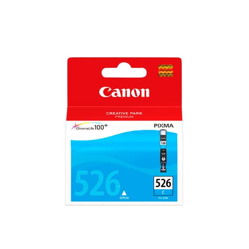 Canon 4541B001AA CLI-526C Cyan ink cartridge (207 photos)