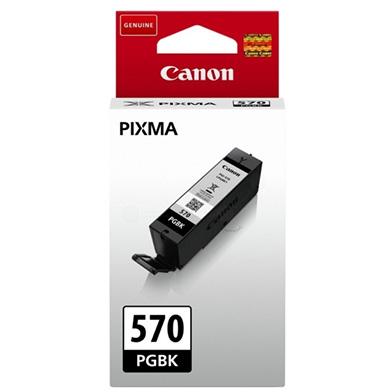 Canon PGI-570PGBK Pigment Black Ink Cartridge (300 Pages)