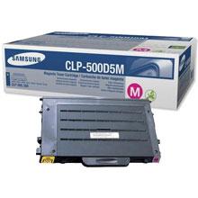Samsung CLP-500D5M/SEE CLP-500D5M Magenta Toner Cartridge (5,000 pages)