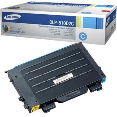 Samsung CLP-510D2C CLP-510D2C Cyan Toner Cartridge (2,000 pages)