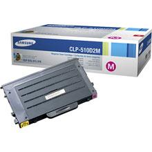 Samsung CLP-510D2M/SEE CLP-510D2M Magenta Laser Print Cartridge (2,000 pages)