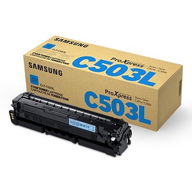Samsung CLT-C503L Cyan Toner Cartridge (5,000 Pages)