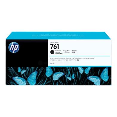 HP CM997A No. 761 Matte Black Ink Cartridge (775ml)