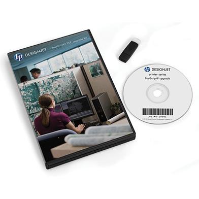 HP CQ745B DesignJet PostScript PDF Upgrade Kit