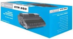 Sagem CTR360 Black CTR360 Toner Cartridge (2,200 pages)