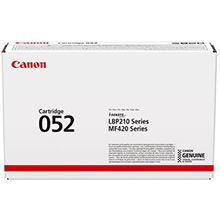 Canon 2199C002AA 052 Black Toner Cartridge (3,100 Pages)