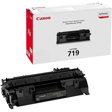 Canon 719 Black Toner Cartridge (2,100 Pages)