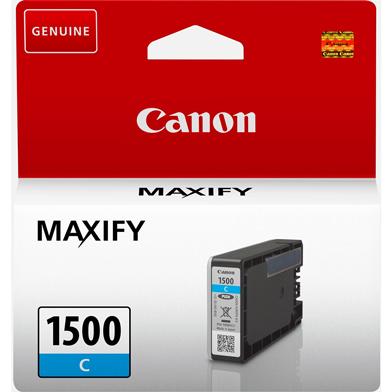 Canon 9229B001 PGI-1500C Cyan Ink Cartridge (300 Pages)