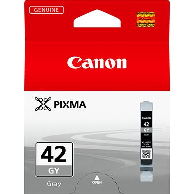 Canon 6390B001 CLI-42GY Grey Ink Cartridge (492 Photos)