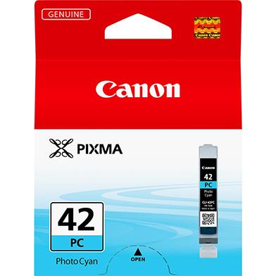Canon 6388B001 CLI-42PC Photo Cyan Ink Cartridge (292 Photos)