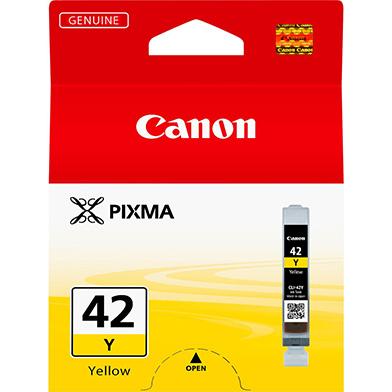 Canon 6387B001 CLI-42Y Yellow Ink Cartridge (284 Photos)